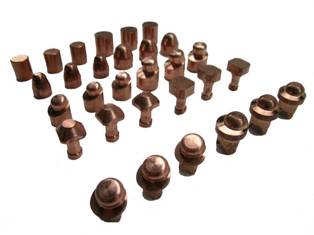 Fabricant d'électrode en cuivre au chrome